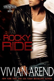 Rocky Ride Cover. Man wearing leather jacket. Scruffy chin. Yummy. ;)