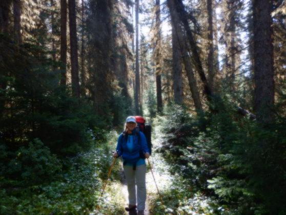 16 Viv hiking