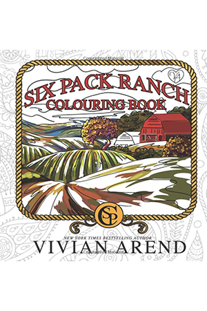Six Pack Ranch Colouring Book by Vivian Arend