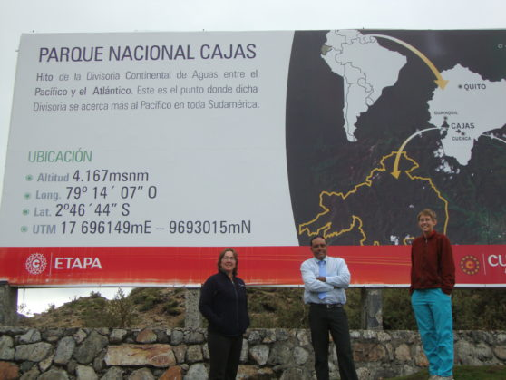 Cajas National Park - yep, the air is thin here, especailly when we have been at sea level for the past 2 months