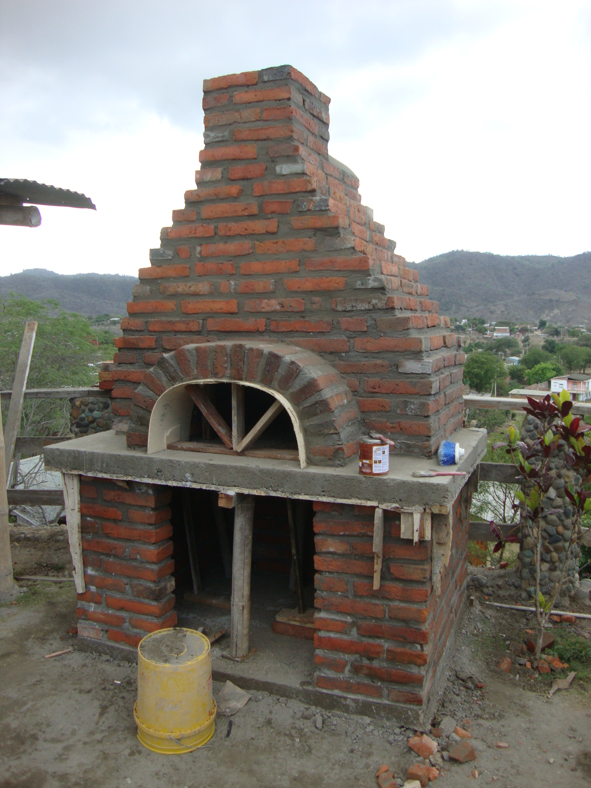 Wood fired oven puerto lopez