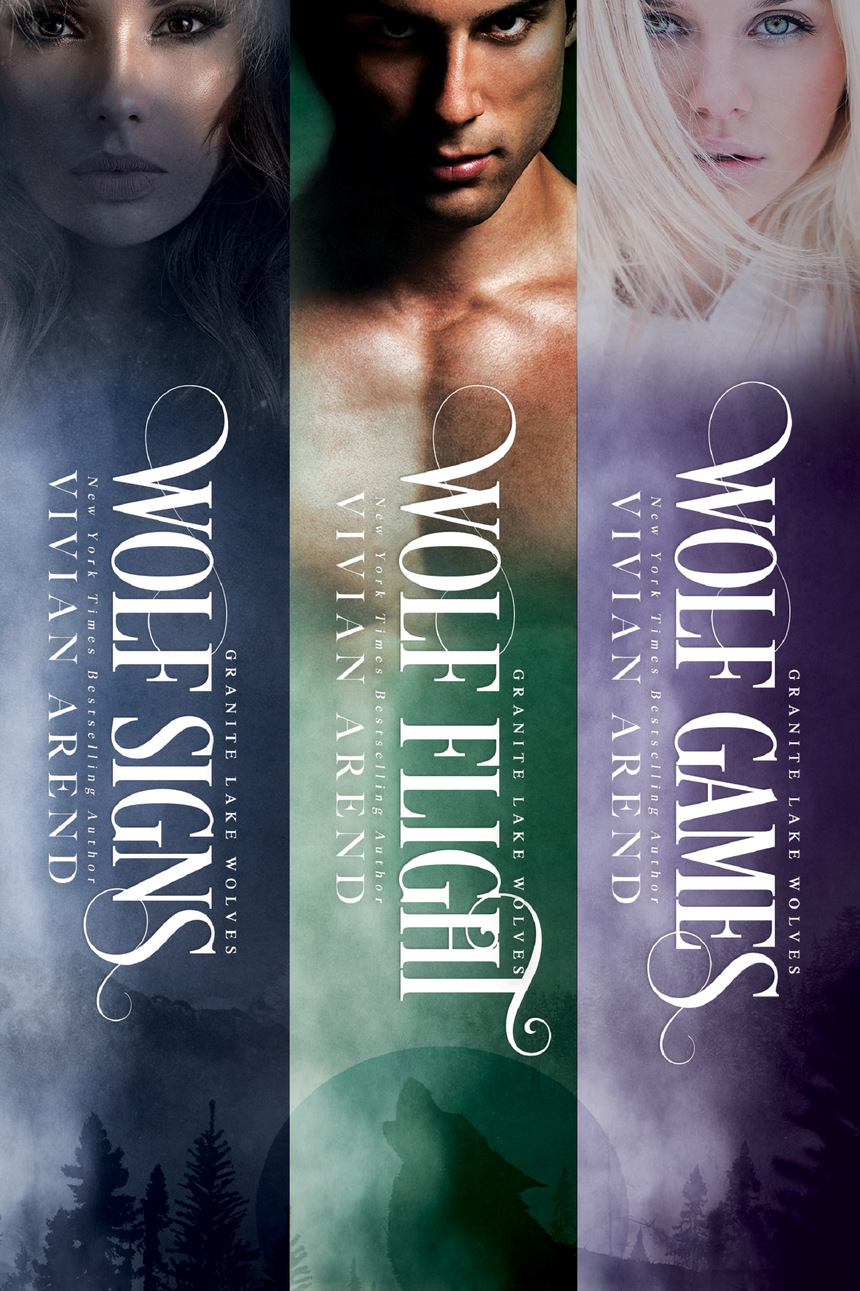 Granite Lake Wolves: Books 1-3