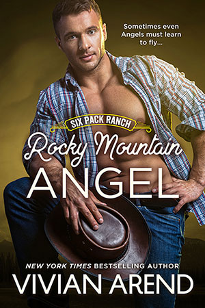 Book cover: Rocky Mountain Angel. Gabe Coleman, kind hearted cowboy, image