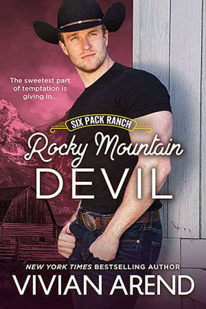 book cover: rocky mountain devil. Rafe Coleman. Youthful, quiet cowboy