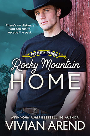 Book cover: rocky mountain home. Jesse Coleman, black sheep of the family come home.