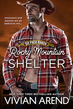 Book cover: rocky mountain shelter. Trevor Coleman, Quiet, study cowboy.