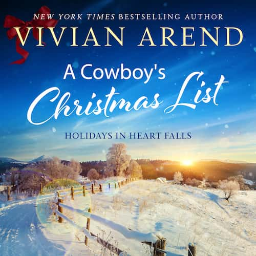 A Cowboy's Christmas List audiobook by Vivian Arend