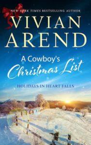 A Cowboy's Christmas List by Vivian Arend
