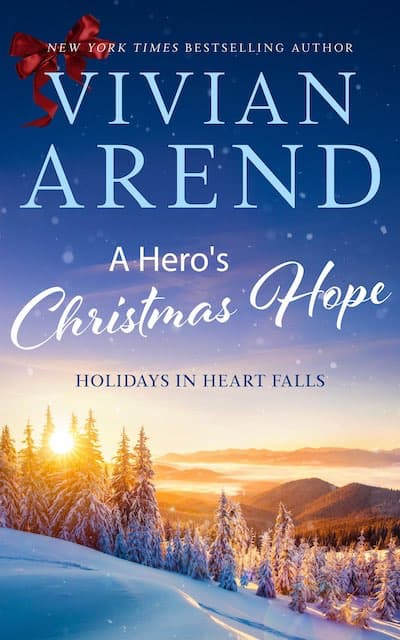 Book cover for A Hero's Christmas Hope by Vivian Arend