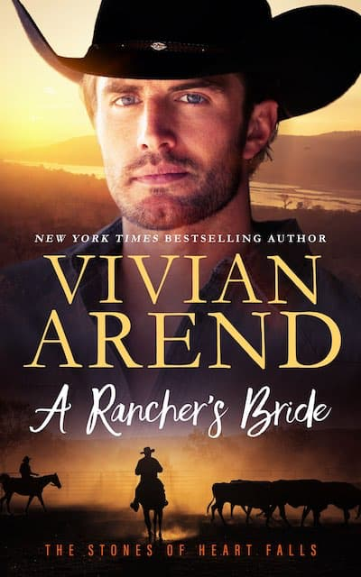 Book cover for A Rancher's Bride by Vivian Arend