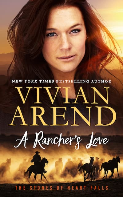 Book cover for A Rancher's Love by Vivian Arend