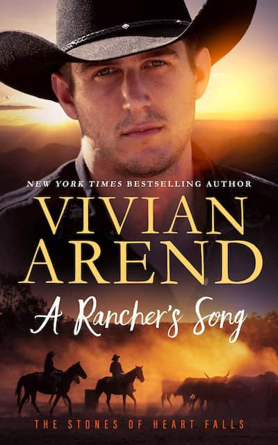 Book cover for A Rancher's Song by Vivian Arend