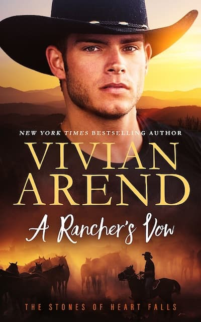 Book cover for A Rancher's Vow by Vivian Arend