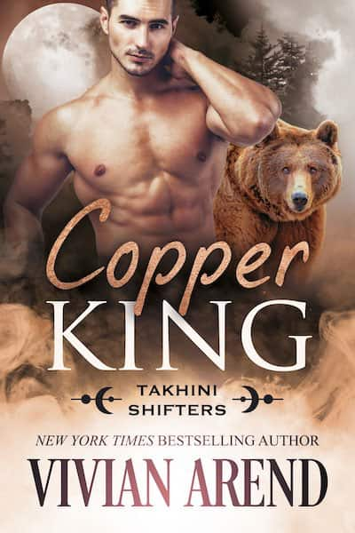 Book cover for Copper King by Vivian Arend