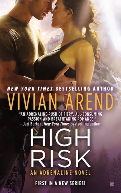Book cover for High Risk by Vivian Arend