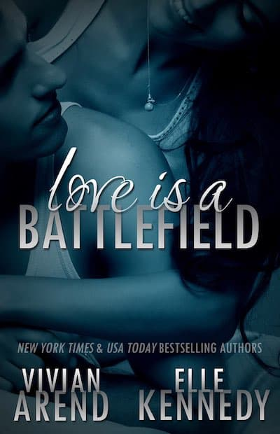 Book cover for Love is a Battlefield by Vivian Arend