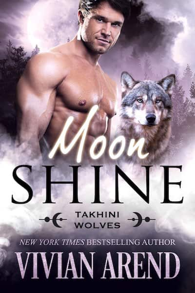 Book cover for Moon Shine by Vivian Arend