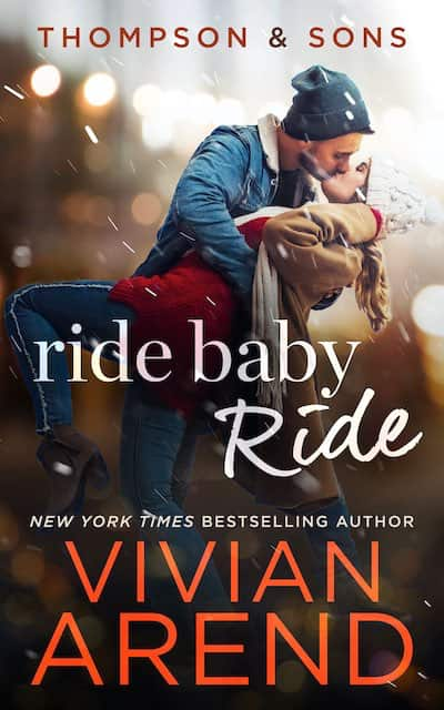 Book cover for Ride Baby Ride by Vivian Arend