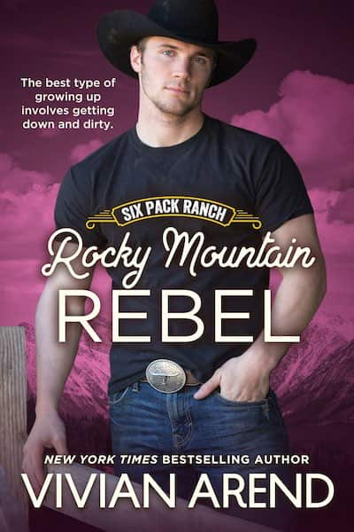 Book cover for Rocky Mountain Rebel by Vivian Arend