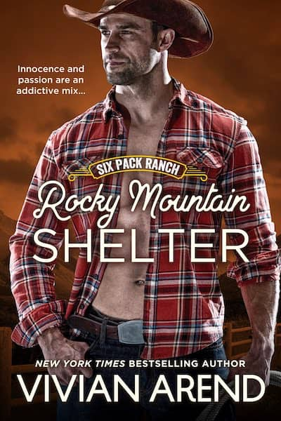 Book cover for Rocky Mountain Shelter by Vivian Arend