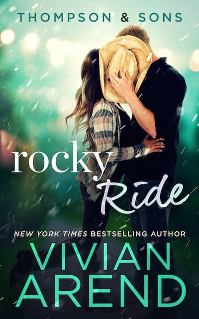 Book cover for Rocky Ride by Vivian Arend