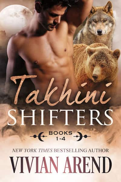 Book cover for Takhini Shifters: Books 1-4 by Vivian Arend