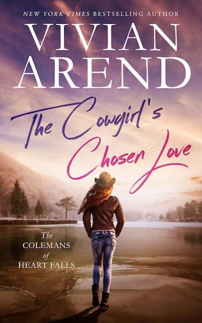 Book cover for The Cowgirl's Chosen Love by Vivian Arend