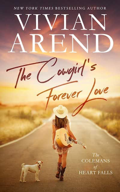 Book cover for The Cowgirl's Forever Love by Vivian Arend