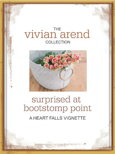 Vignette: Surprised at Bootstomp Point by Vivian Arend