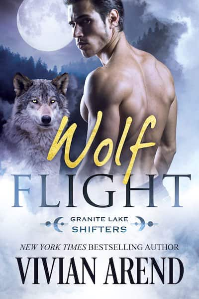 Book cover for Wolf Flight by Vivian Arend