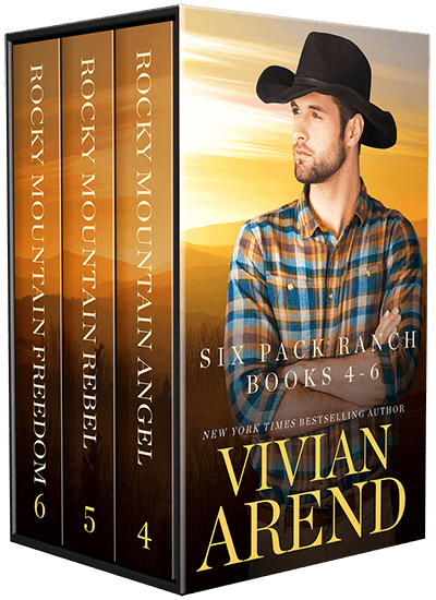Book cover for Six Pack Ranch Vol. 2 by Vivian Arend